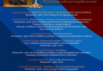 Peregrynacja ikony i relikwii św. Ignacego z Loyoli w Gdyni